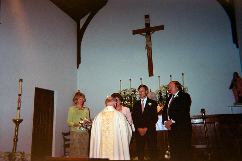 Lynn and Larry Simpkons Wedding Renewal May 2000