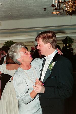 Mary Ann Resnick & Mark Palinski Wedding May 1987