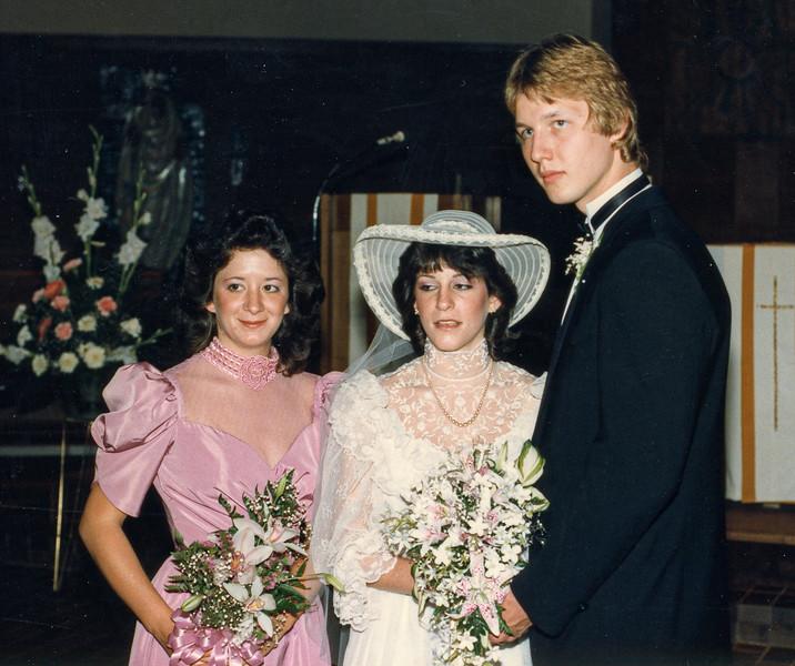 Thomas and Kerry Wedding June 2, 1984