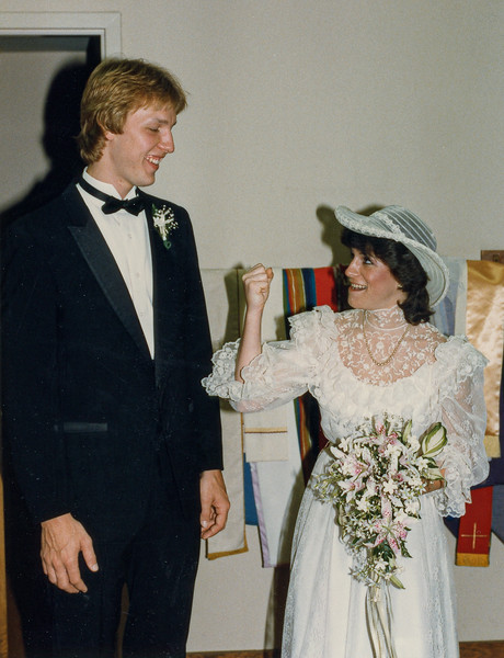 Thomas and Kerry Wedding June 2, 1984