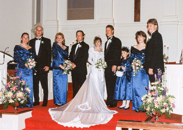 Tom and Tracey Wedding  5/6/1995
