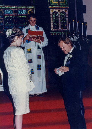 Alf and Debbie Renew their Vows  1990