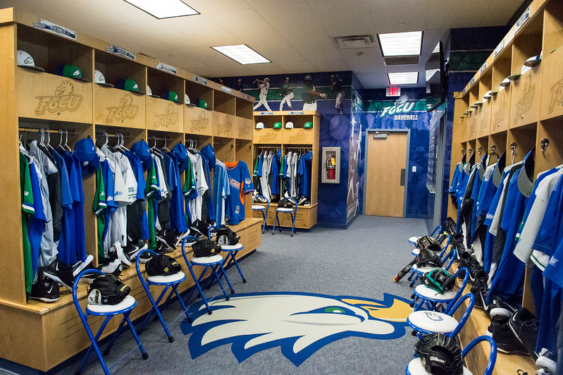 FGCU Baseball Locker Room Reveal