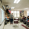 U.S. Government teacher Brian LaHair teaches his students at Fitchburg High School on Friday, February 3, 2017. SENTINEL & ENTERPRISE / Ashley Green