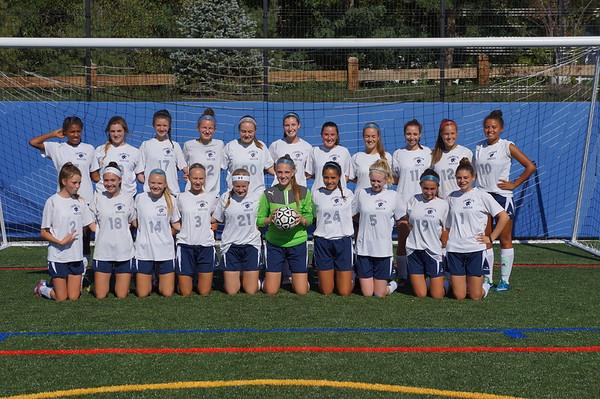 Girls JV Soccer 2016