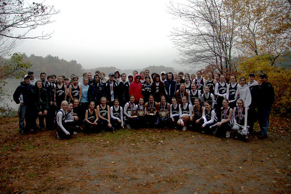 Hockomock Championships 10/24/09 - First Place