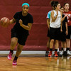 The Fitchburg High girls basketball team practices on Wednesday afternoon. SENTINEL & ENTERPRISE / Ashley Green