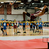 Fitchburg's Charlie Jackson competes in the high jump during the track meet at Fitchburg High on Saturday morning. SENTINEL & ENTERPRISE / Ashley Green