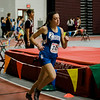 Lunenburg's Jessica Antinori competes in the one-mile during the track meet at Fitchburg High on Saturday morning. SENTINEL & ENTERPRISE / Ashley Green