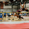 Fitchburg's Khim Nguyen competes in the high jump during the track meet at Fitchburg High on Saturday morning. SENTINEL & ENTERPRISE / Ashley Green
