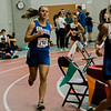 Lunenburg's Aimee Dennler competes in the one-mile during the track meet at Fitchburg High on Saturday morning. SENTINEL & ENTERPRISE / Ashley Green