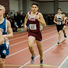 Fitchburg's Cristian Ardvino competes in the one-mile during the track meet at Fitchburg High on Saturday morning. SENTINEL & ENTERPRISE / Ashley Green
