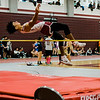 Fitchburg's CJ Byars competes in the high jump during the track meet at Fitchburg High on Saturday morning. SENTINEL & ENTERPRISE / Ashley Green
