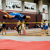Leominster's David Gonzalez competes in the high jump during the track meet at Fitchburg High on Saturday morning. SENTINEL & ENTERPRISE / Ashley Green