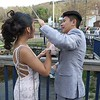 Fitchburg High School Prom was held at Wachusett Mountain in Princeton on Saturday night, May 5, 2018. Dylan Thanadabouth helps out his date Sehda Kong with a hair issue at the prom. SENTINEL & ENTERPRISE/JOHN LOVE