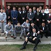 Fitchburg High School Prom was held at Wachusett Mountain in Princeton on Saturday night, May 5, 2018. This group of guys posed for a picture just for dinner was served at the prom. SENTINEL & ENTERPRISE/JOHN LOVE