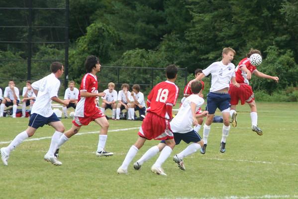 Boys Junior Varsity 2008-9