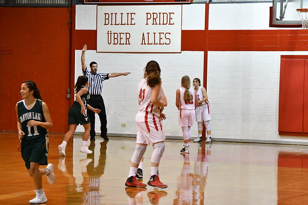 FHS girls' basketball 1-24-18