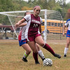 Fitchburg  High School girls soccer played West Boylston High School on Wednesday afternoon, Oct. 2, 2019 in Fitchburg. FHS's #10 Elle Scott. SENTINEL & ENTERPRISE/JOHN LOVE