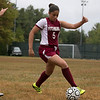Fitchburg  High School girls soccer played West Boylston High School on Wednesday afternoon, Oct. 2, 2019 in Fitchburg. FHS's #5 Naisha Aponte. SENTINEL & ENTERPRISE/JOHN LOVE