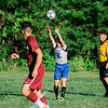 Sizer's Mitchell Clark-Heiter in action during the game against Fitchburg on Thursday afternoon. SENTINEL & ENTERPRISE / Ashley Green