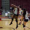 Fitchburg's Nye'Jah Johnson during the match against Ayer-Shirley on Tuesday afternoon. SENTINEL & ENTERPRISE / Ashley Green