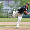 Fitchburg High School played Groton Dunstable Regional High School on Thursday afternoon in the Central Mass. Division 1 first round. GDRHS pitcher Shamus Gelinas winds up to deliver a pitch. SENTINEL & ENTERPRISE/JOHN LOVE