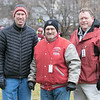 Leomimnster High School visited Crocker Field in Fitchburg to play Fitchburg High School for the 125th meeting of the two teams. At the game cheering on Fitchburg was Fitchburg Superintendent Robert Jokela, Fitchburg Mayor Stephen DiNatale and Fitchburg Police Chief Ernest Martineau. SENTINEL & ENTERPRISE/JOHN LOVE