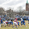 Leomimnster High School visited Crocker Field in Fitchburg to play Fitchburg High School for the 125th meeting of the two teams. SENTINEL & ENTERPRISE/JOHN LOVE