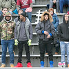 Leomimnster High School visited Crocker Field in Fitchburg to play Fitchburg High School for the 125th meeting of the two teams. FHS fans. SENTINEL & ENTERPRISE/JOHN LOVE