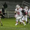 Fitchburg High School football played North Middlesex Regional High School on Friday night in Fitchburg. NMRHS's #12 Josh LeBlanc. SENTINEL & ENTERPRISE/JOHN LOVE