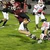 Fitchburg High School football played North Middlesex Regional High School on Friday night in Fitchburg. FHS #1 Montgomery Graham. SENTINEL & ENTERPRISE/JOHN LOVE