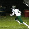 Fitchburg High School Played Nashoba Regional High School on Friday night in Fitchburg during the Central Mass. Division 4 semifinals. NRHS's #9 Joey Sabourin takes off with a punt. SENTINEL & ENTERPRISE/JOHN LOVE
