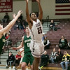 Fitchburg High School boys basketball played Nashoba Regional High School on Tuesday, Jan. 14, 2020. FHS's #25 Kenny Marte. SENTINEL & ETERPRISE/JOHN LOVE