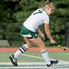 Nashoba Regional High School field hockey played Fitchburg High School Wednesday, September 26, 2018. NRHS player Natalie takes control of the ball. SENTINEL & ENTERPRISE/JOHN LOVE