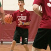 Fitchburg High School Unified Basketball hosted Oakmont Regional High School on Wednesday, Oct. 30, 2019. FHS's Cole Donelan gets ready to take a shot during action in the game. SENTINEL & ENTERPRISE/JOHN LOVE