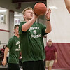 Fitchburg High School Unified Basketball hosted Oakmont Regional High School on Wednesday, Oct. 30, 2019. ORHS's Richard Prunier takes a shot. SENTINEL & ENTERPRISE/JOHN LOVE