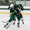 Fiutchburg High School/Monty Tech hockey played Oakmont Regional High school on Thursday afternoon, Feb. 13, 2020 at the Wallace Civic Center at Fitchburg State University in Fitchburg. ORHS's #25 Jake Berkio. SENTINEL & ENTERPRISE/JOHN LOVE