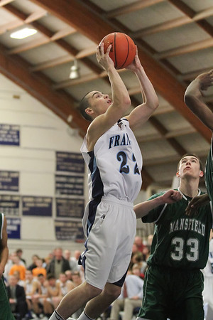 BV Basketball v Mansfield - MIAA Tourney