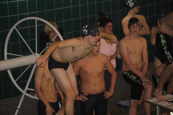 Swim Meet vs Mansfield 1-17