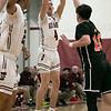 Fitchburg High School boys basketball played Marlborogh High School on Thursday night, Jan 30, 2020 in Fitchburg. FHS's #4 Daniel Edmonds. SENTINEL & ENTERPRISE/JOHN LOVE