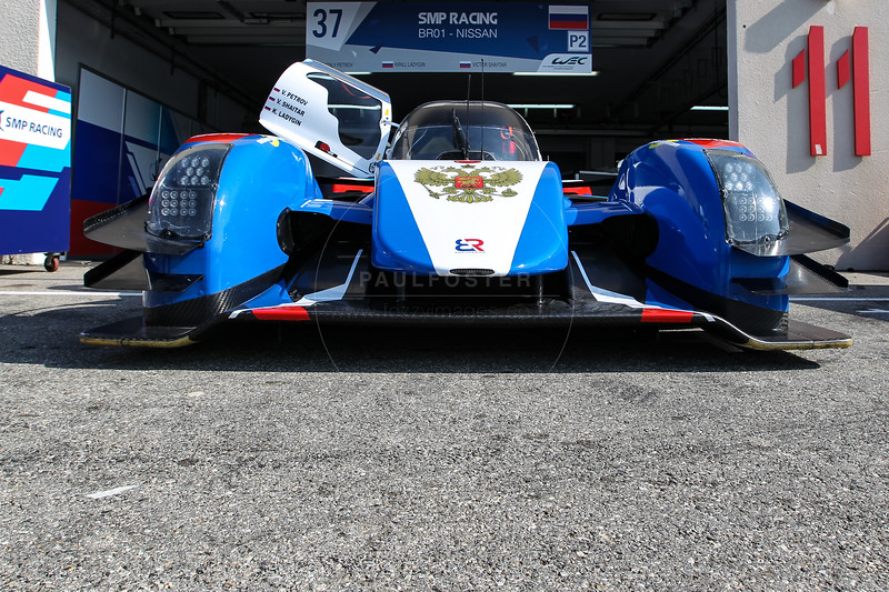 SMP Racing  BR01 - Nissan #37 driven by Vitaly Petrov / Victor Shaytar / Kirill Ladygin  during the Thursday set up for the  FIA WEC Prologue held at  Circuit Paul Ricard, Le Castellet, France from the 24th-26th of March 2016