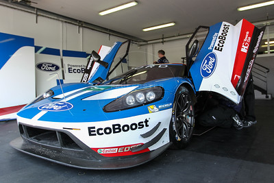 Ford Chip Ganassi Team UK Ford GT #66 driven by Olivier Pla / Stefan Mucke / Billy Johnson  during the Thursday set up for the  FIA WEC Prologue held at  Circuit Paul Ricard, Le Castellet, France from the 24th-26th of March 2016