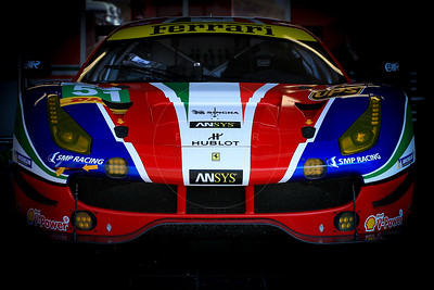 AF Corse Ferrari F488 GTE #51 driven by Gianmaria Bruni / James Calado  during the Thursday set up for the  FIA WEC Prologue held at  Circuit Paul Ricard, Le Castellet, France from the 24th-26th of March 2016