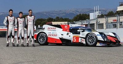 During the Toyota Gazoo TS050 launch before the  FIA WEC Prologue held at  Circuit Paul Ricard, Le Castellet, France from the 24th-26th of March 2016