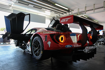 Ford Chip Ganassi Team UK Ford GT #67 driven by Marino Franchitti / Andy Priaulx / Harry Tincknell during the Thursday set up for the  FIA WEC Prologue held at  Circuit Paul Ricard, Le Castellet, France from the 24th-26th of March 2016