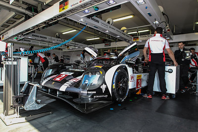 Porsche Team Porsche 919 Hybrid #2 driven by Romain Dumas / Neel Jani / Marc Lieb during the Thursday set up for the  FIA WEC Prologue held at  Circuit Paul Ricard, Le Castellet, France from the 24th-26th of March 2016