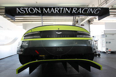 Aston Martin Racing  Aston Martin Vantage #97 driven byMarco Sorensen / Fernando Rees / Jonathan Adam during the Thursday set up for the  FIA WEC Prologue held at  Circuit Paul Ricard, Le Castellet, France from the 24th-26th of March 2016