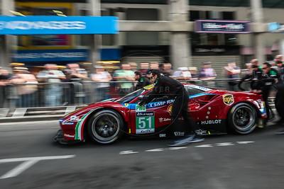 #51 Ferrari 488 GTE (ITA) Public scrutineering