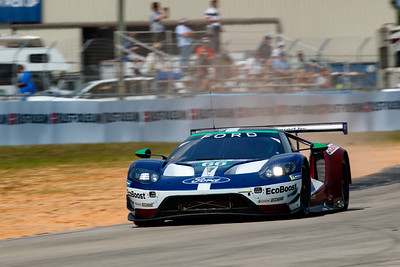 #66 Ford Chip Ganassi Racing Ford GT: Stefan Mucke, Olivier Pla, Billy Johnson  , 1000 Miles of Sebring, Sebring International Raceway, Sebring, Florida